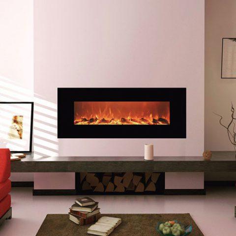 شومینه برقی دیواری شیشه ای E160