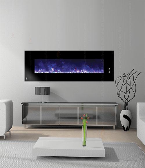 شومینه برقی دیواری مدل هوشمند EH140